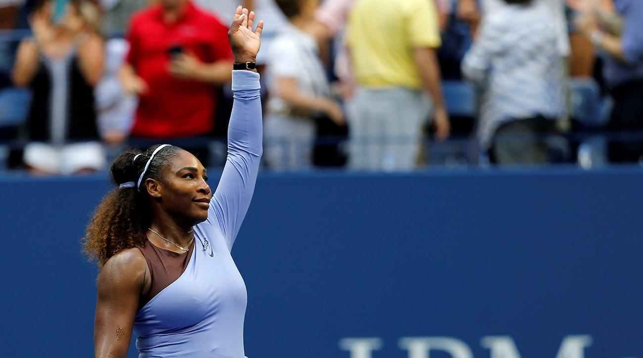 Williams hits 18 aces in US Open win