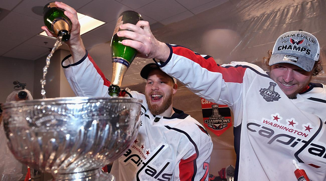 Capitals, stanley cup, stanley cup keg stands, washington capitals, 2018 stanley cup