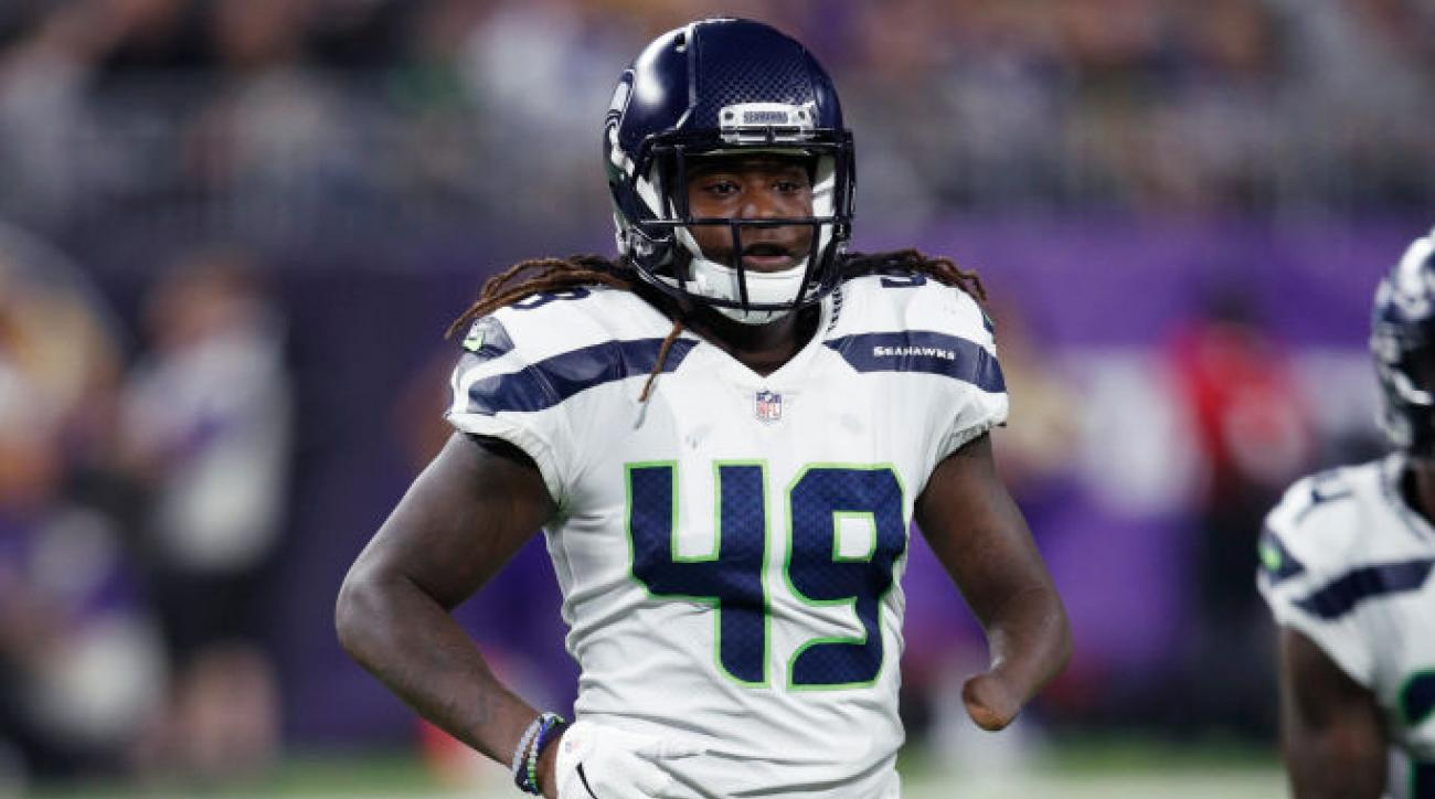 sports shoes dcb52 1fab5 Rookie LB Shaquem Griffin starting Week 1 for Seahawks | SI.com