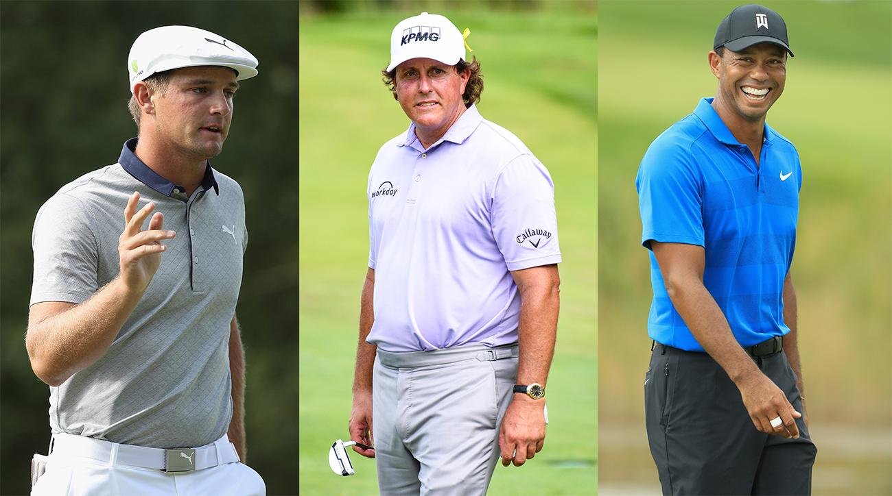 Phil Mickelson Bryson DeChambeau Tiger Woods Ryder Cup Captains Picks