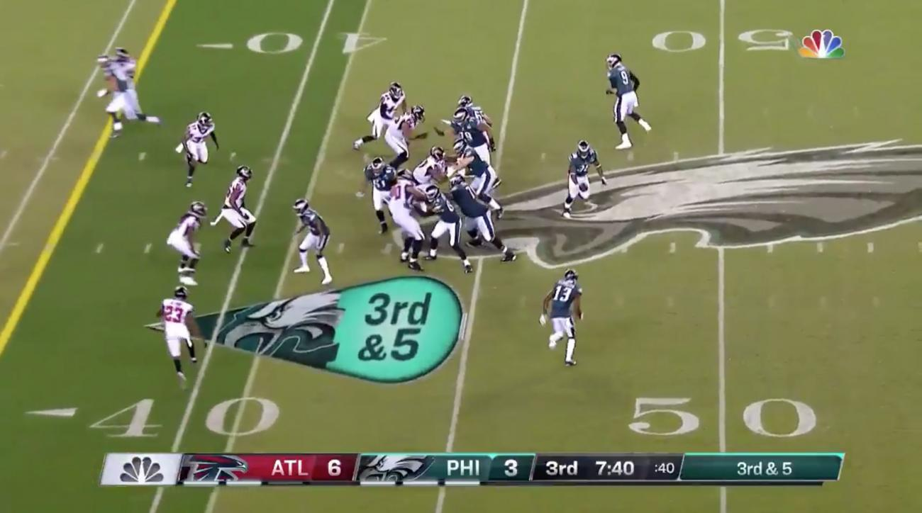 Eagles run trick play against Falcons in opener (video)  7e7cacedd