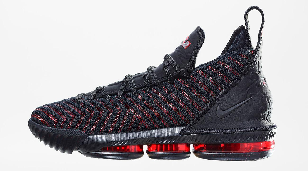 low cost c826c e779e LeBron 16: Nike unveils LeBron James's newest signature shoe ...