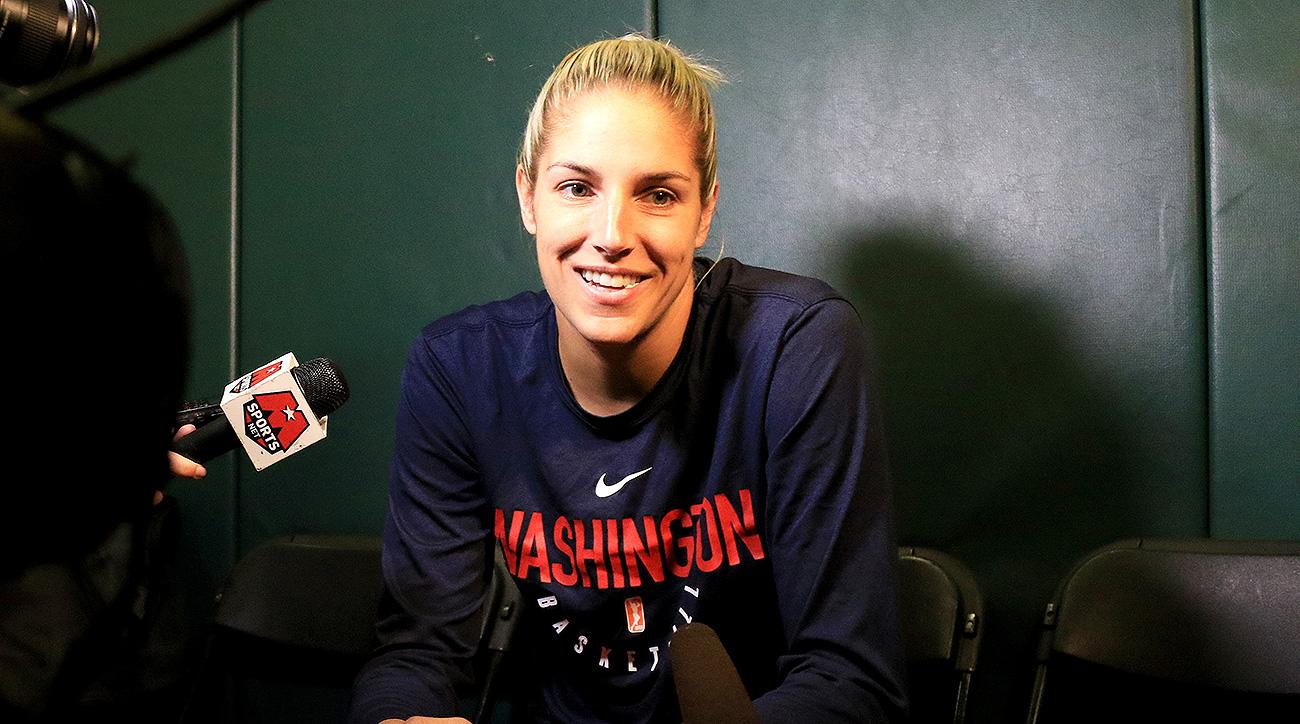 Washington Mystics Elena Delle Donne