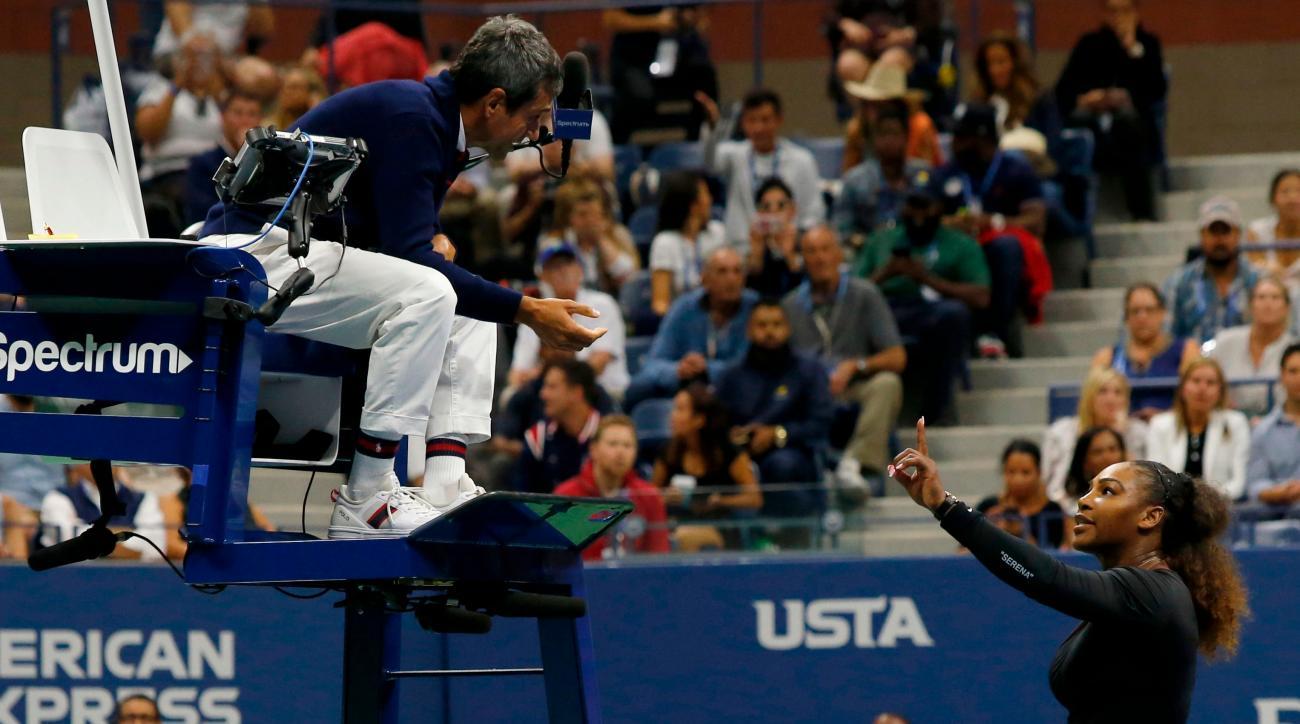 Serena Williams us open coaching controversy carlos ramos