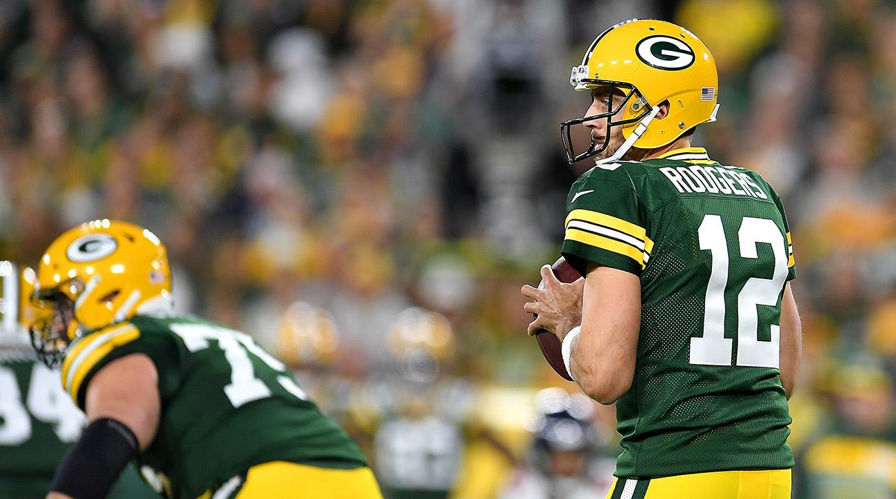 Packers Aaron Rodgers Leads Green Bay To Insane Win Over Bears