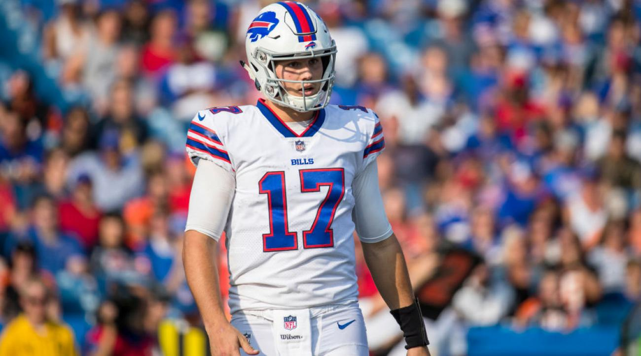 best cheap 1236c ce0a2 Bills replace starting QB Nathan Peterman with Josh Allen ...