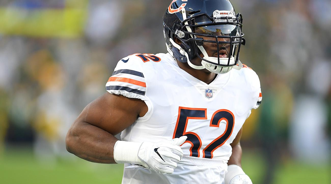 size 40 80809 d078c Khalil Mack dominates in Bears debut against Packers (video ...