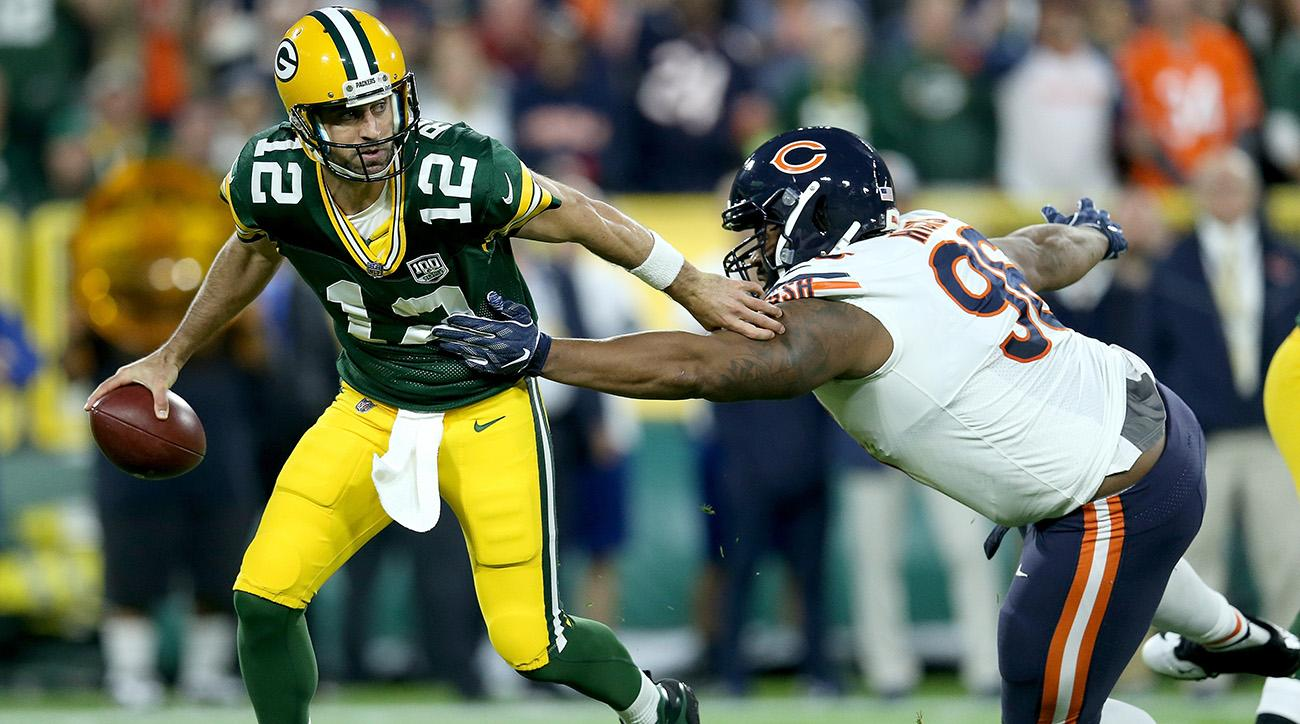 Packers QB Aaron Rodgers vs. Bears