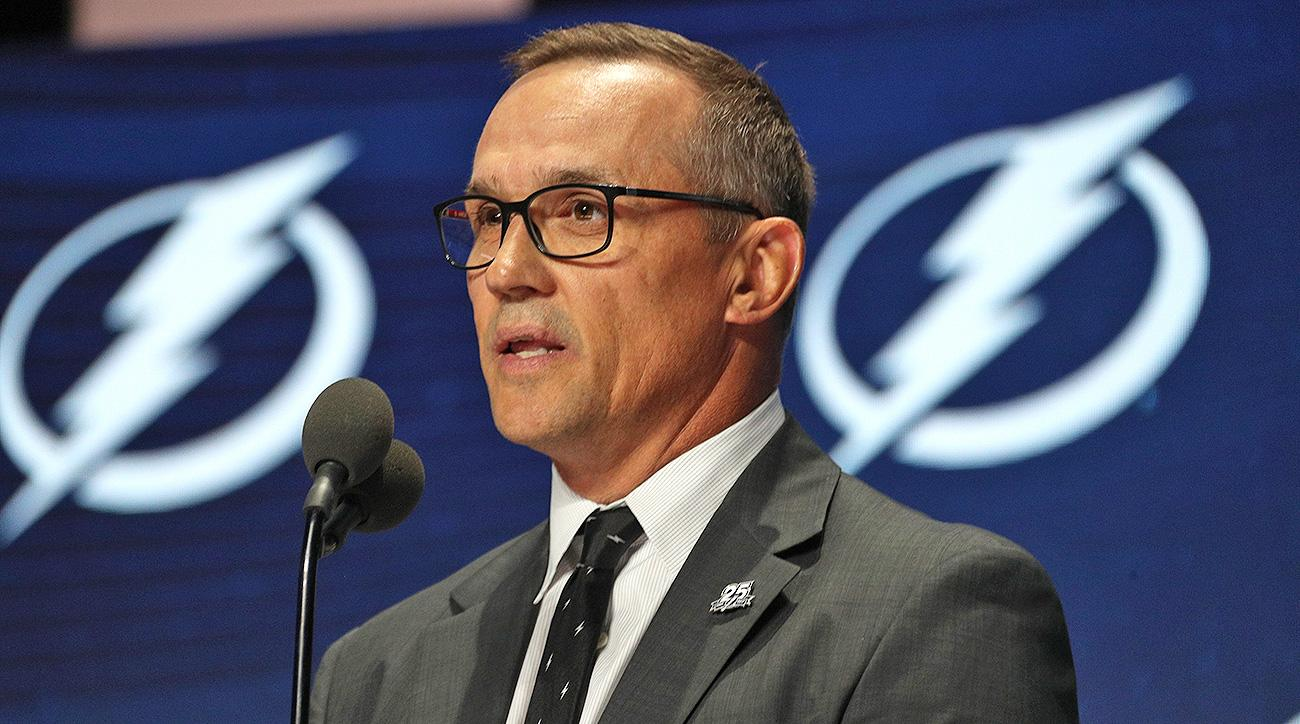Tampa Bay Lightning Steve Yzerman