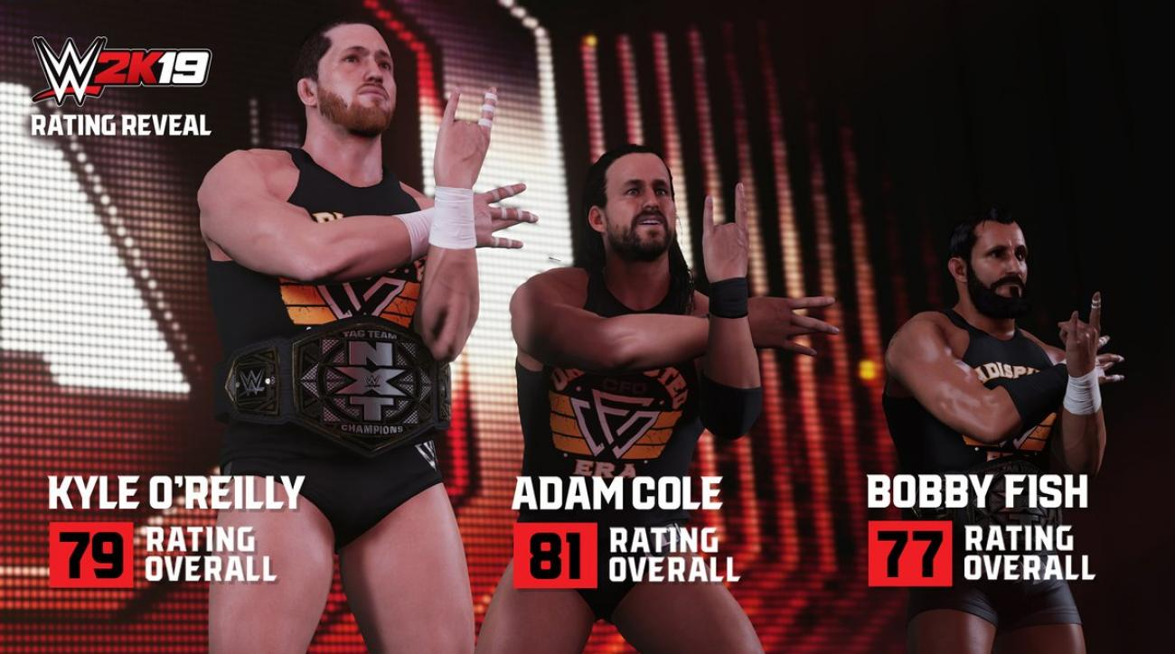 Full WWE 2K19 roster: List of every wrestler in game | SI com