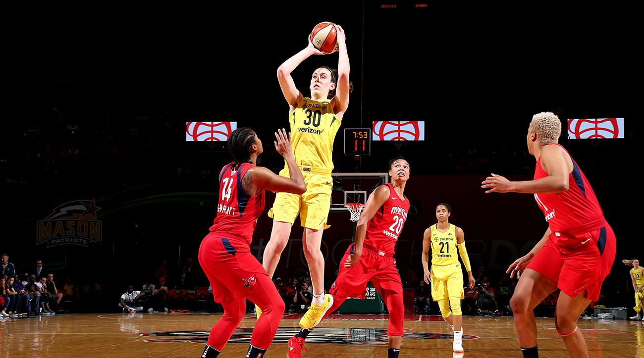 WNBA Finals: Storm sweep Mystics to win third title