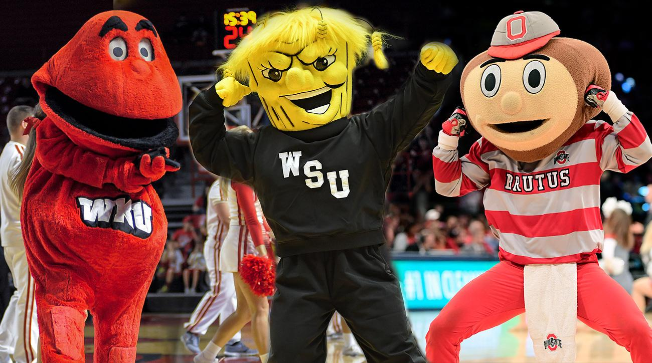College Basketball Mascot Battles We Want To See Si Com
