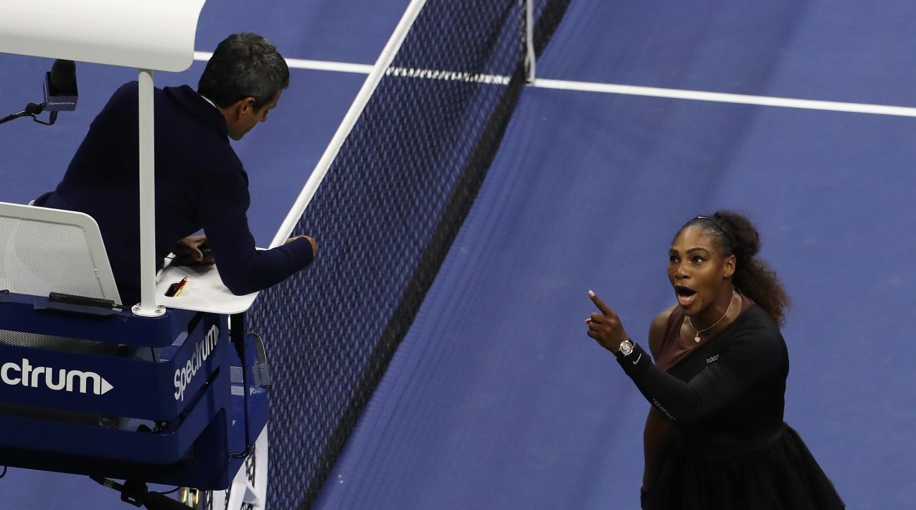 Serena Williams Carlos Ramos US Open umpire controversy