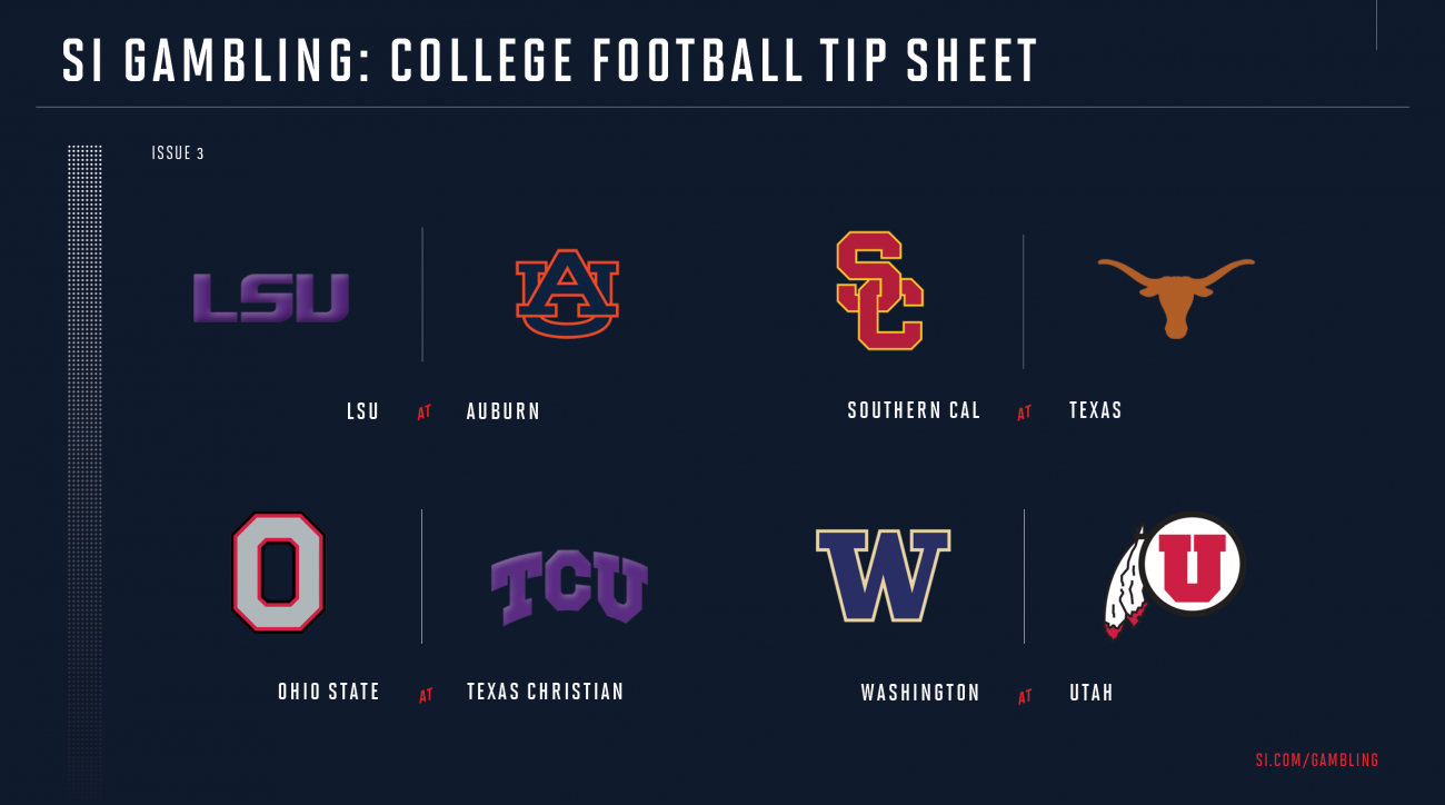 College football week 3 betting guide: Odds, picks for every game