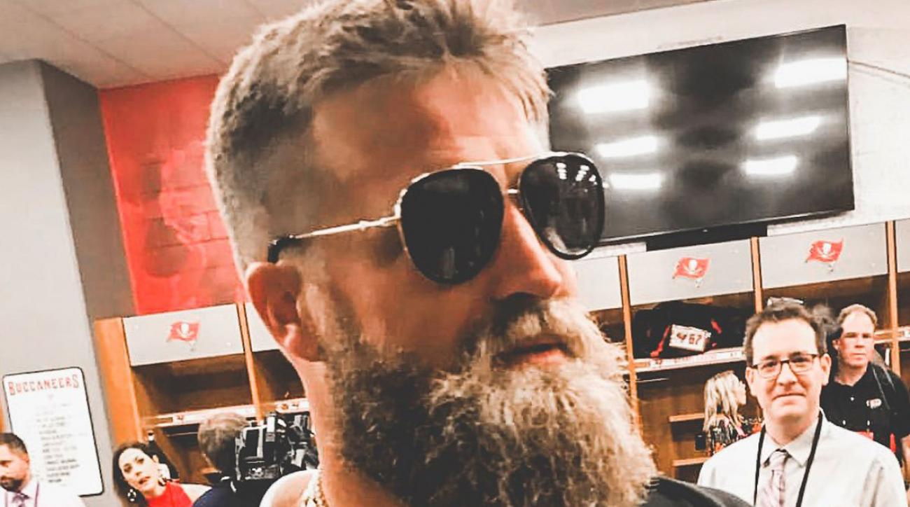 Ryan Fitzpatrick s postgame outfit was peak  FitzMagic   0932121c6