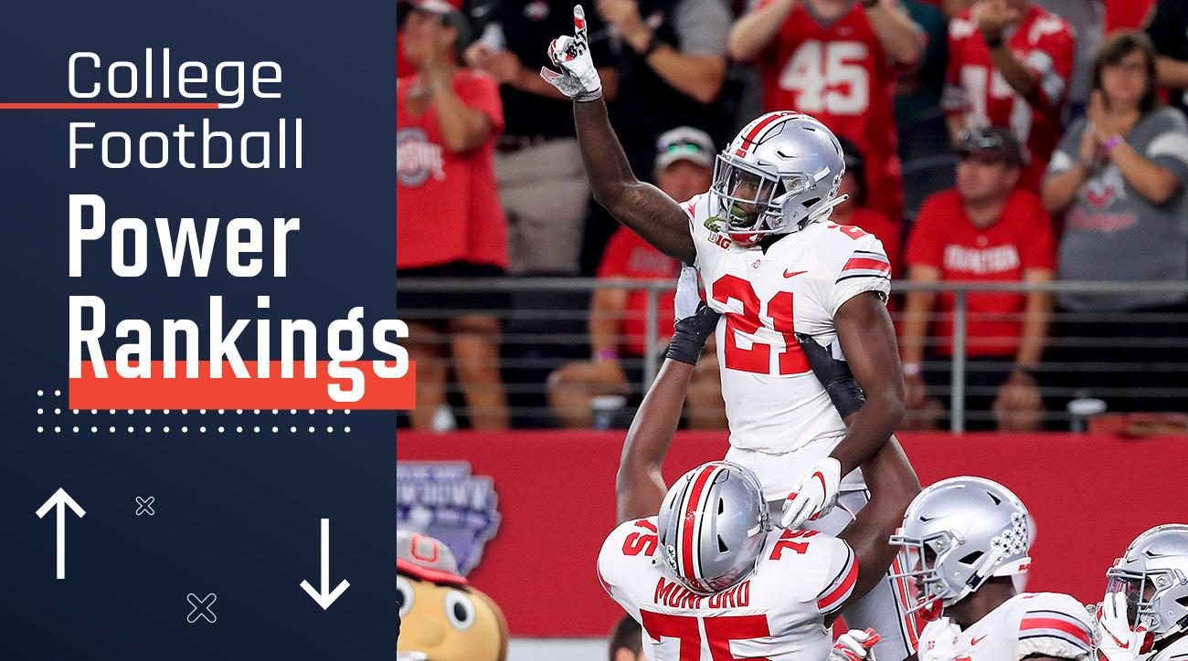 d9cd61a9b3a Week 4 College Football Power Rankings: Ohio State Makes Up for Abysmal Day  in the Big Ten