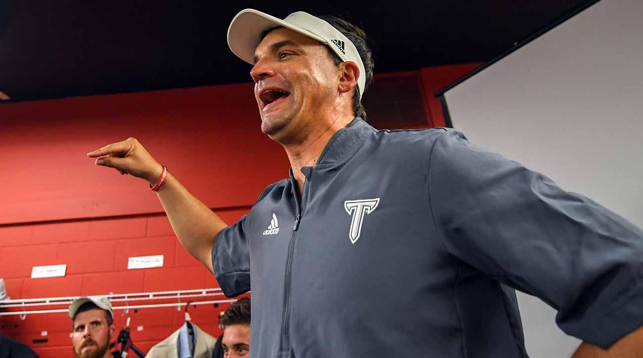 Neal Brown, Troy Trojans upset Nebraska after upsetting LSU