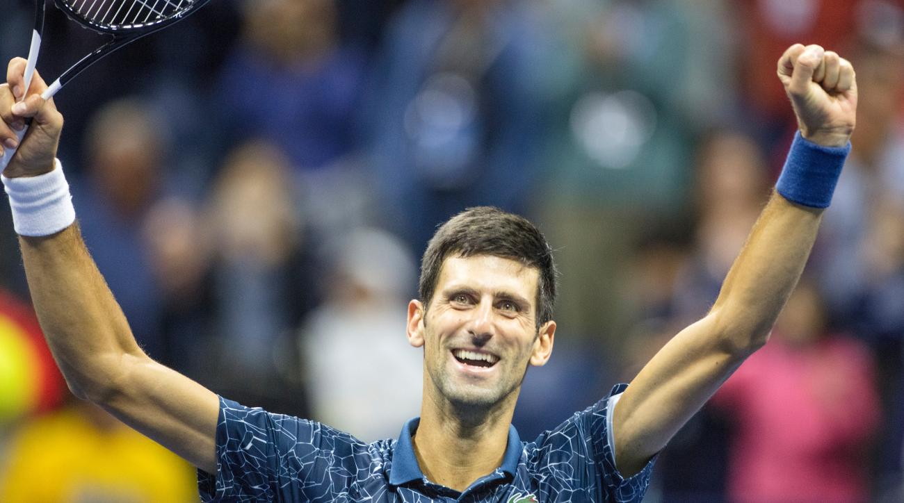 Novak Djokovic us open winner title trophy jon wertheim mailbag