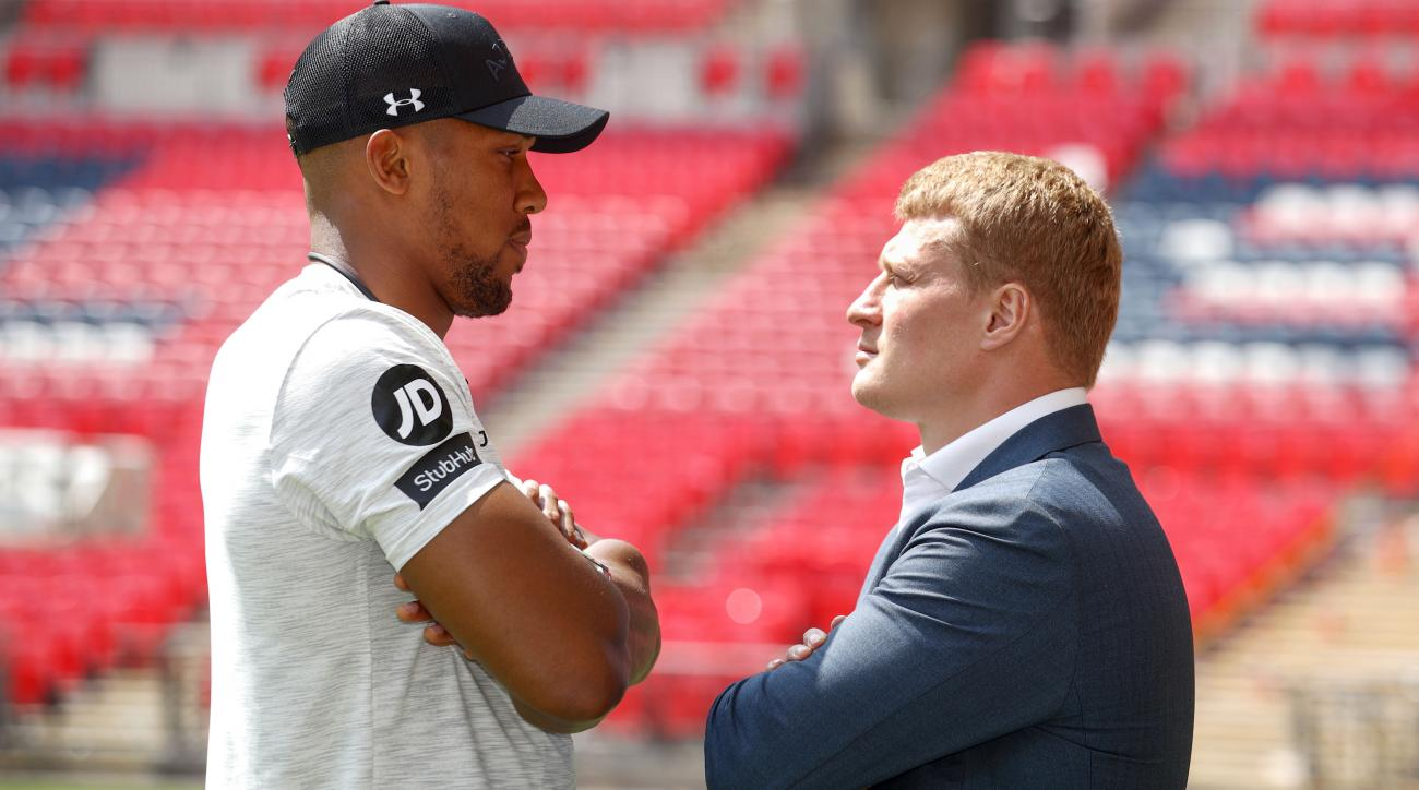 How to watch Anthony Joshua vs Alexander Povetkin