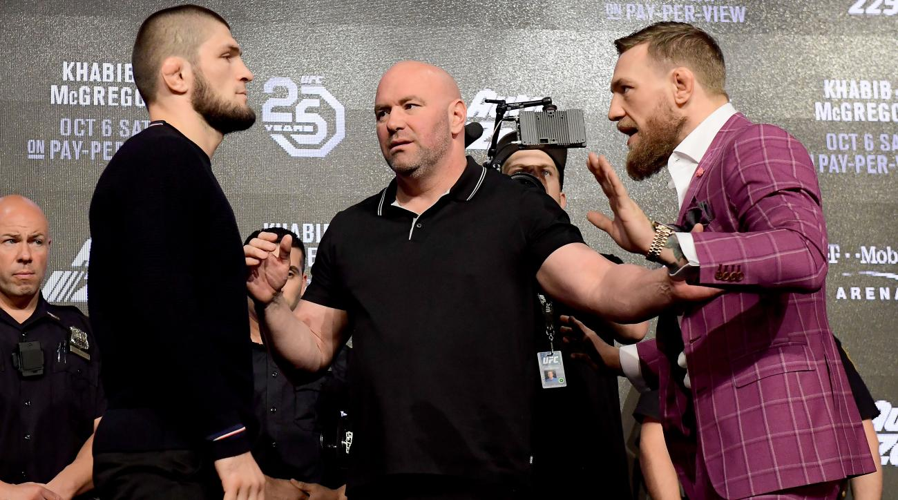 UFC 229 press conference highlights