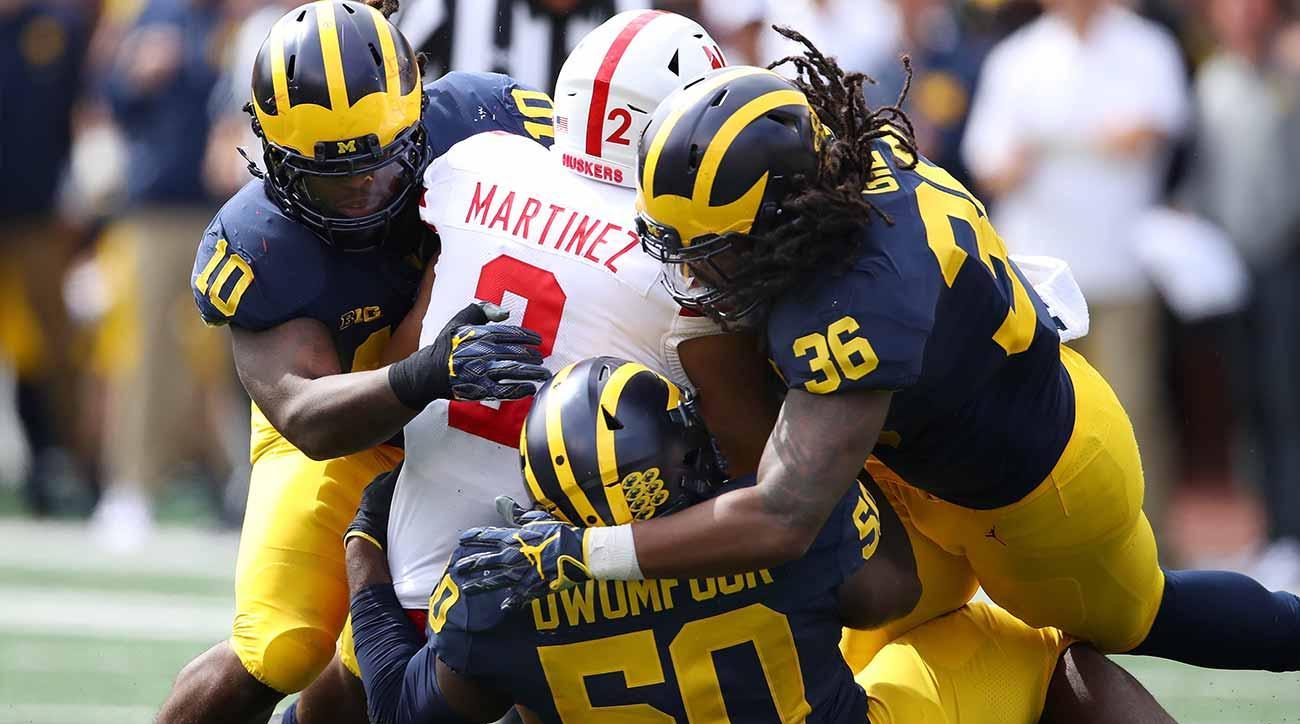 Nebraska vs. Michigan: Scott Frost, Adrian Martinez run out of Ann Arbor