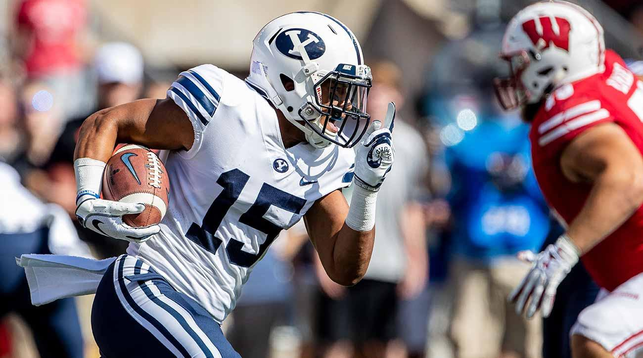 BYU offense: Aleva Hifo running fly sweeps under Jeff Grimes