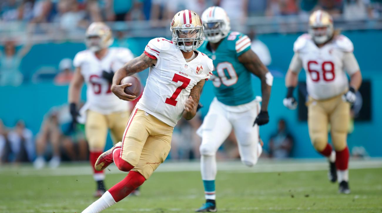 ff830d0039d 49ers won t sign Colin Kaepernick as Garoppolo replacement