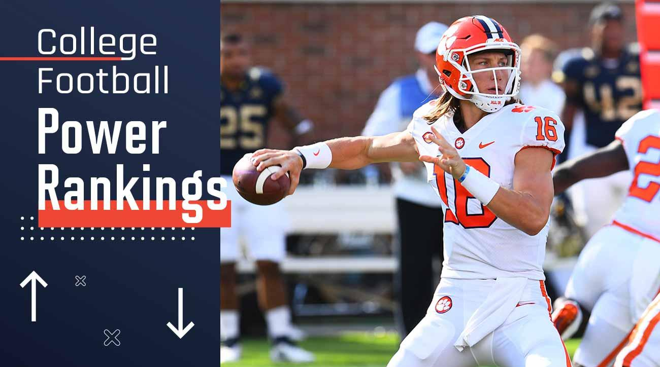 College football power rankings: Clemson, Trevor Lawrence redeem ACC's rough week