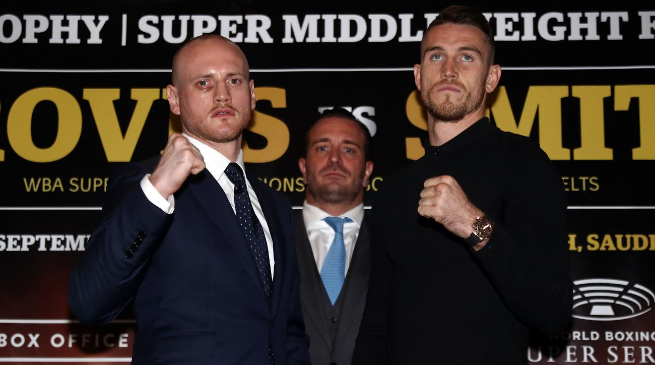 How to watch George Groves vs. Callum Smith