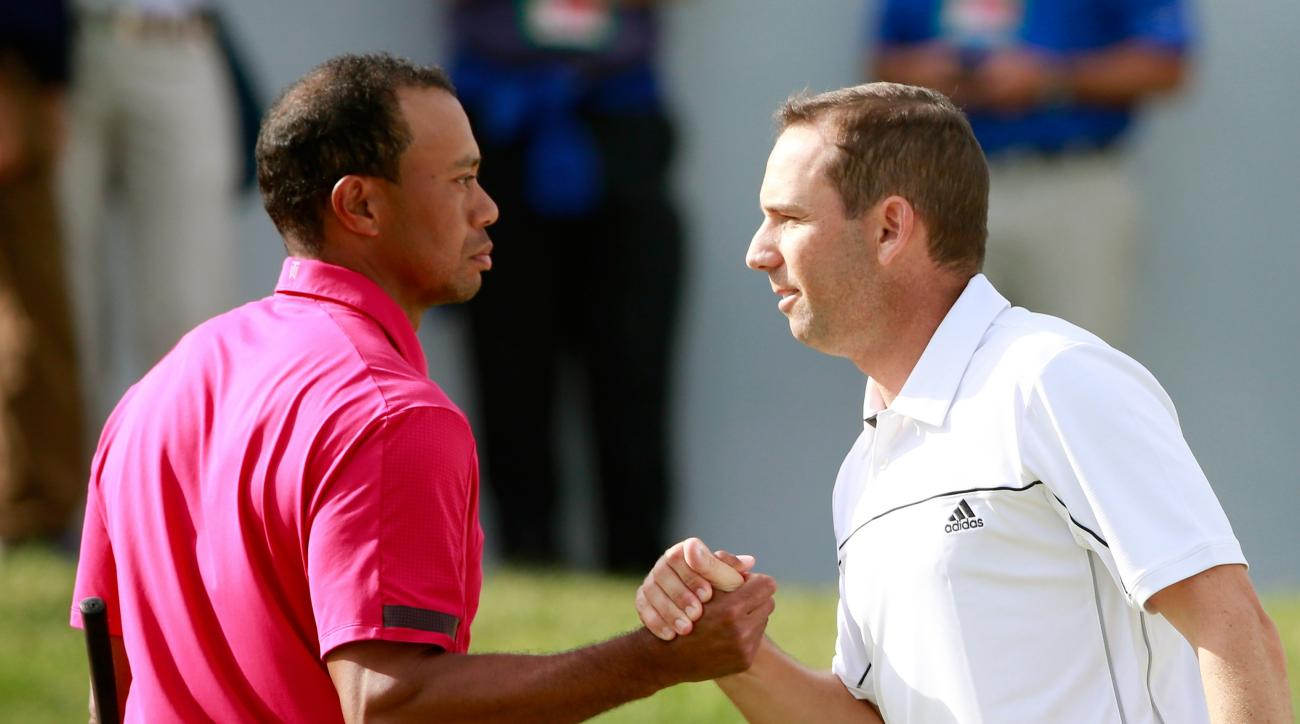 Tiger Woods Sergio Garcia Ryder Cup Le Golf National