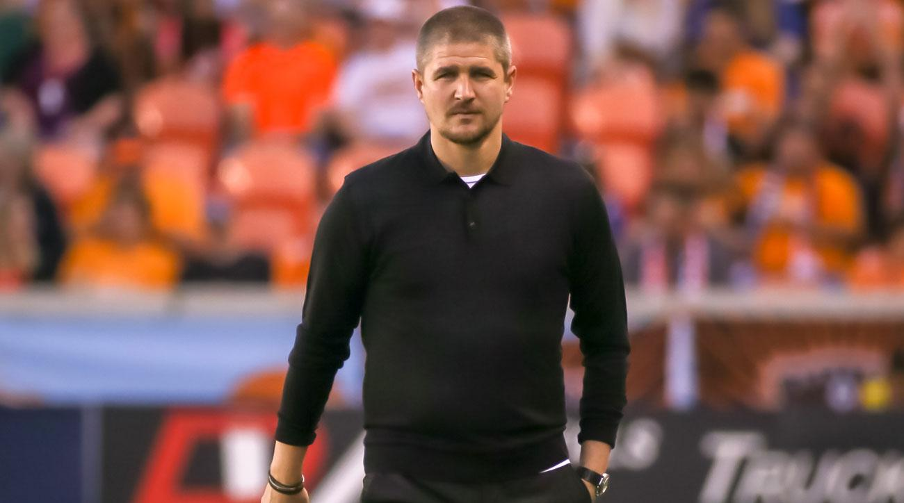Carl Robinson is out as Vancouver Whitecaps coach