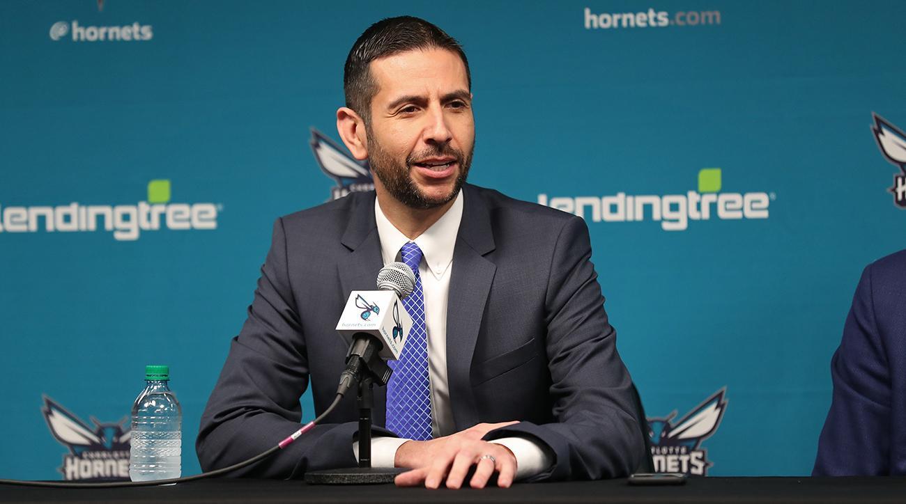 Charlotte Hornets Introduce James Borrego Press Conference