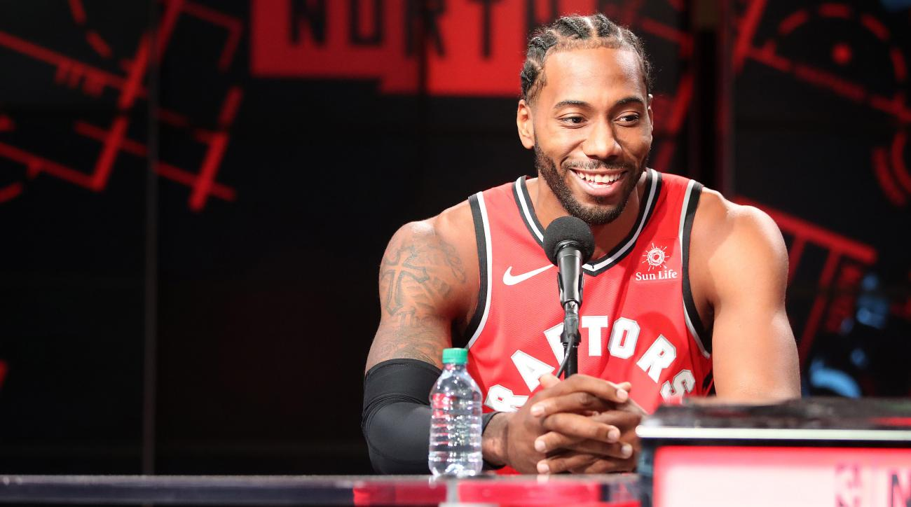 Kawhi Leonard laugh: Video compilation of Raptors star