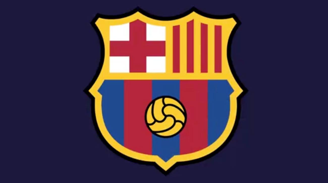 info for b5309 ed1b0 Barcelona new crest  Club plans to redesign its logo (PHOTOS)   SI.com