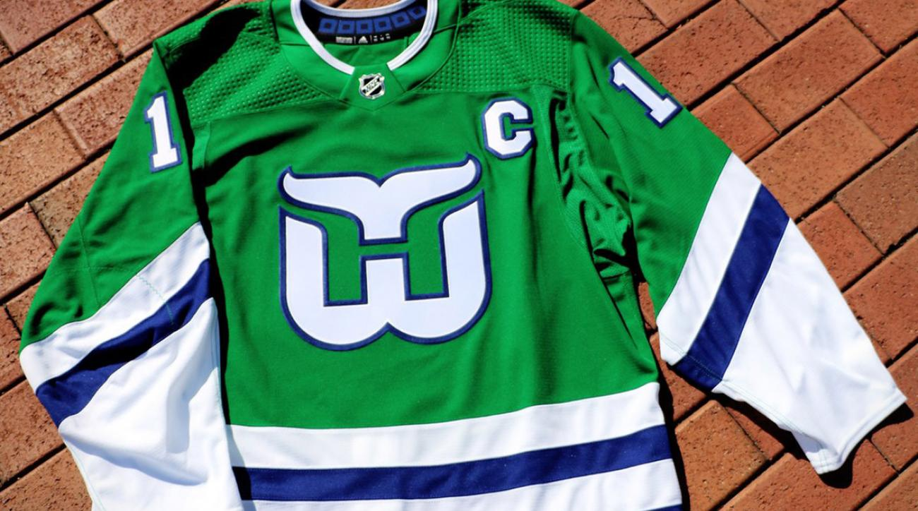 Hartford Whalers throwback jerseys: Hurricanes reveal third uniform