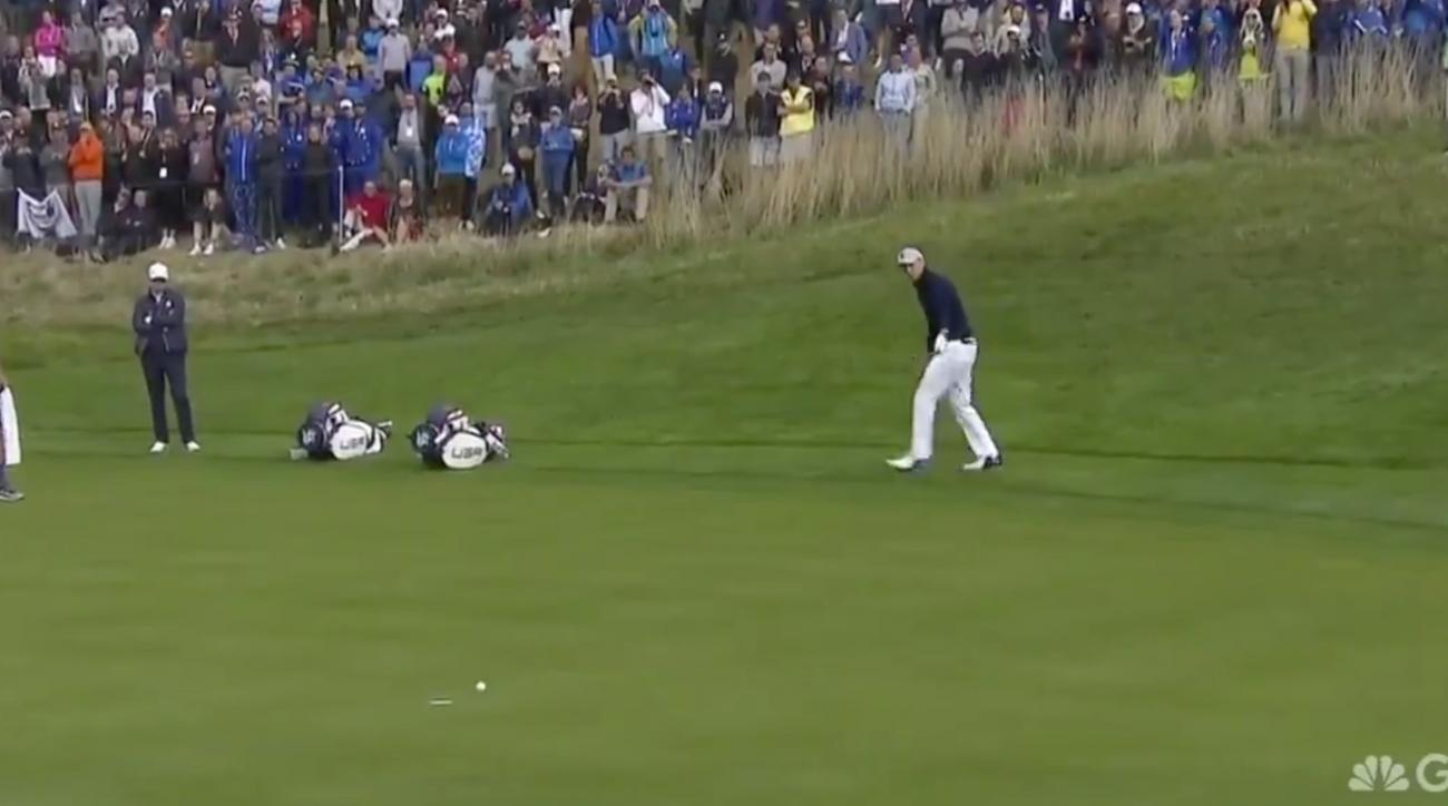 Jordan Spieth Ryder Cup birdies highlights video