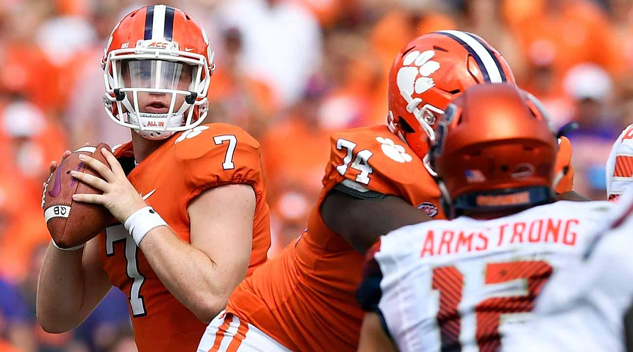 Chase Brice, Kelly Bryant and Clemson's QB recruiting lesson