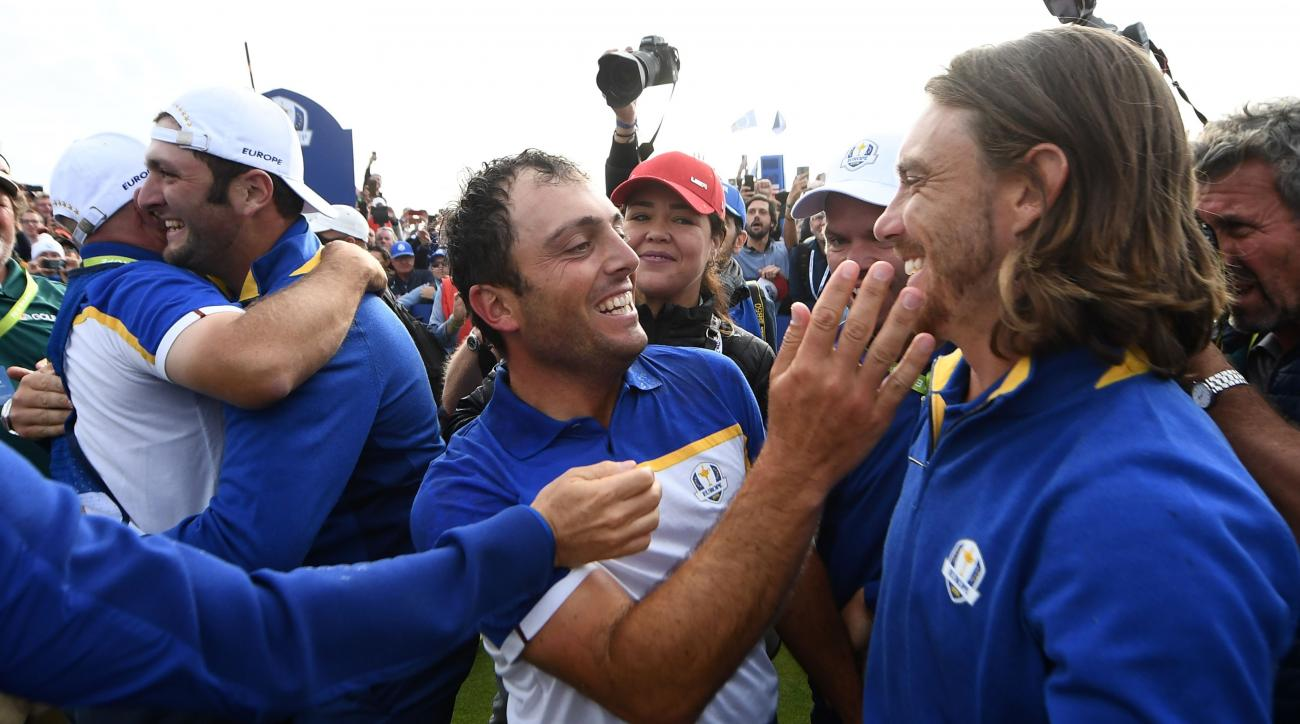 Ryder Cup ian poulter le golf national europe wins