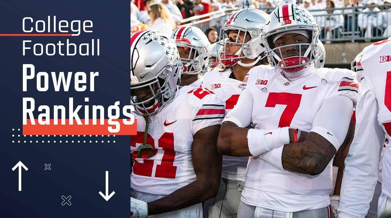 College football Power Rankings: Alabama, Ohio State, Georgia
