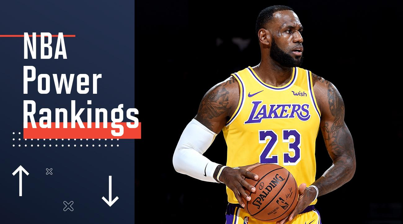 166cc94f6d4 NBA Power Rankings  Preseason Edition