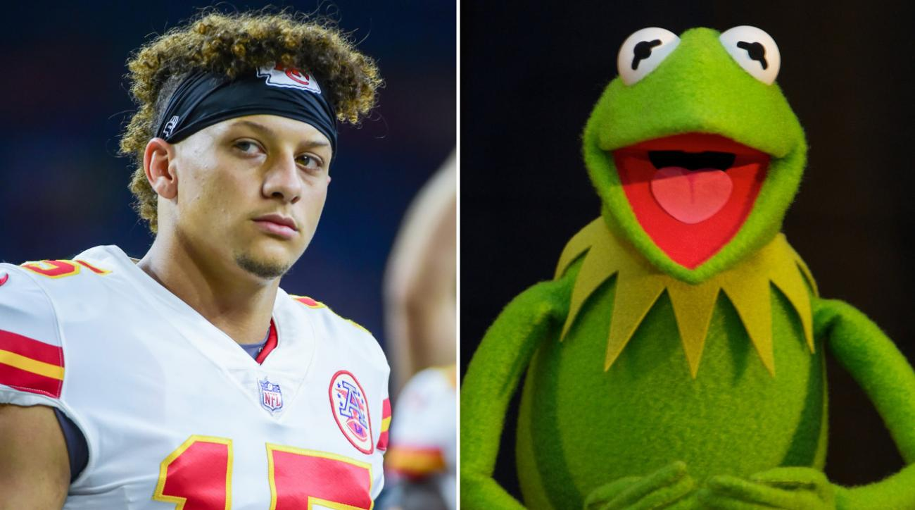 856b2e5a75e Patrick Mahomes' unique voice has attracted almost as much attention as his  strong play this season.