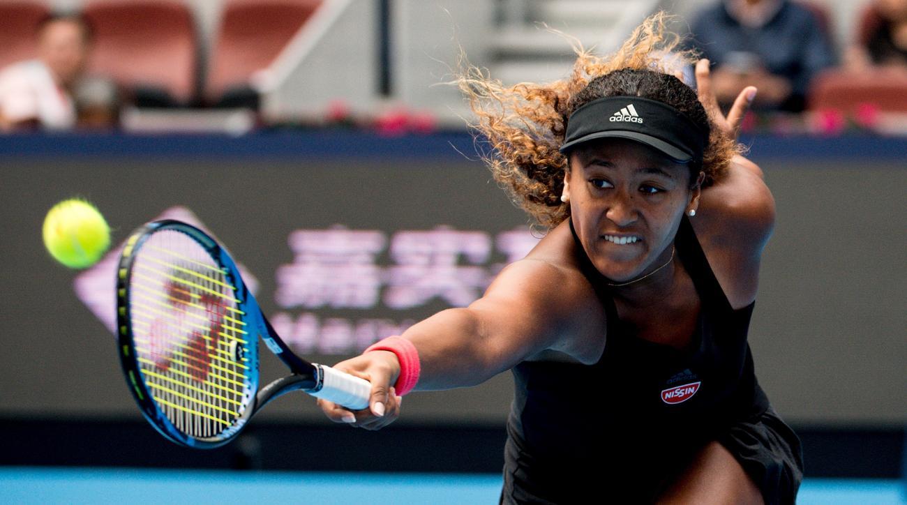 Naomi Osaka Zhang Shuai Beijing China OPen