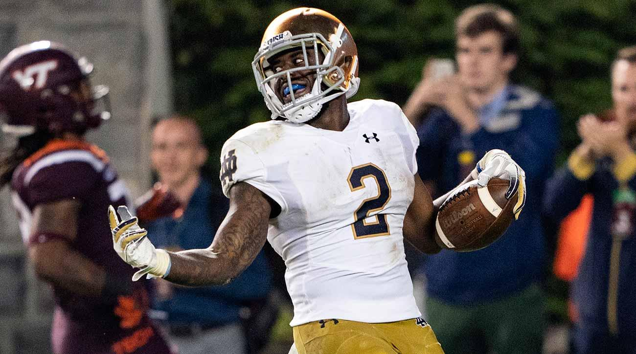 Notre Dame vs. Virginia Tech: Dexter Williams stars for Fighting Irish