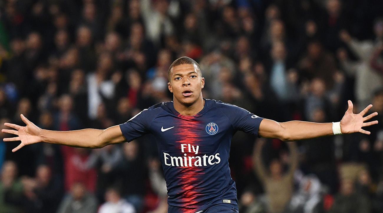 Kylian Mbappe scores four as PSG thrash Lyon