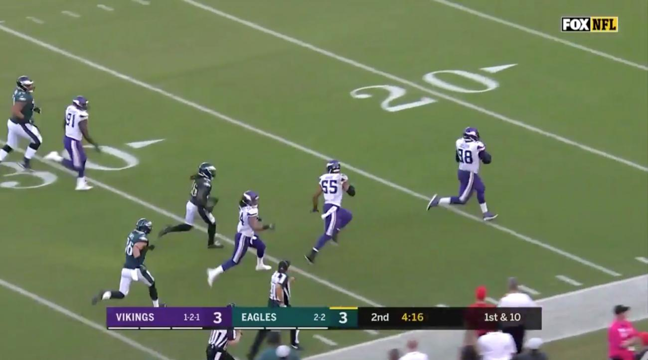 c410dc9ef Linval Joseph returns Carson Wentz fumble for touchdown (video)