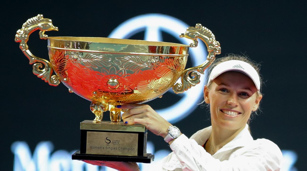 Caroline Wozniacki anastasija sevastova china open