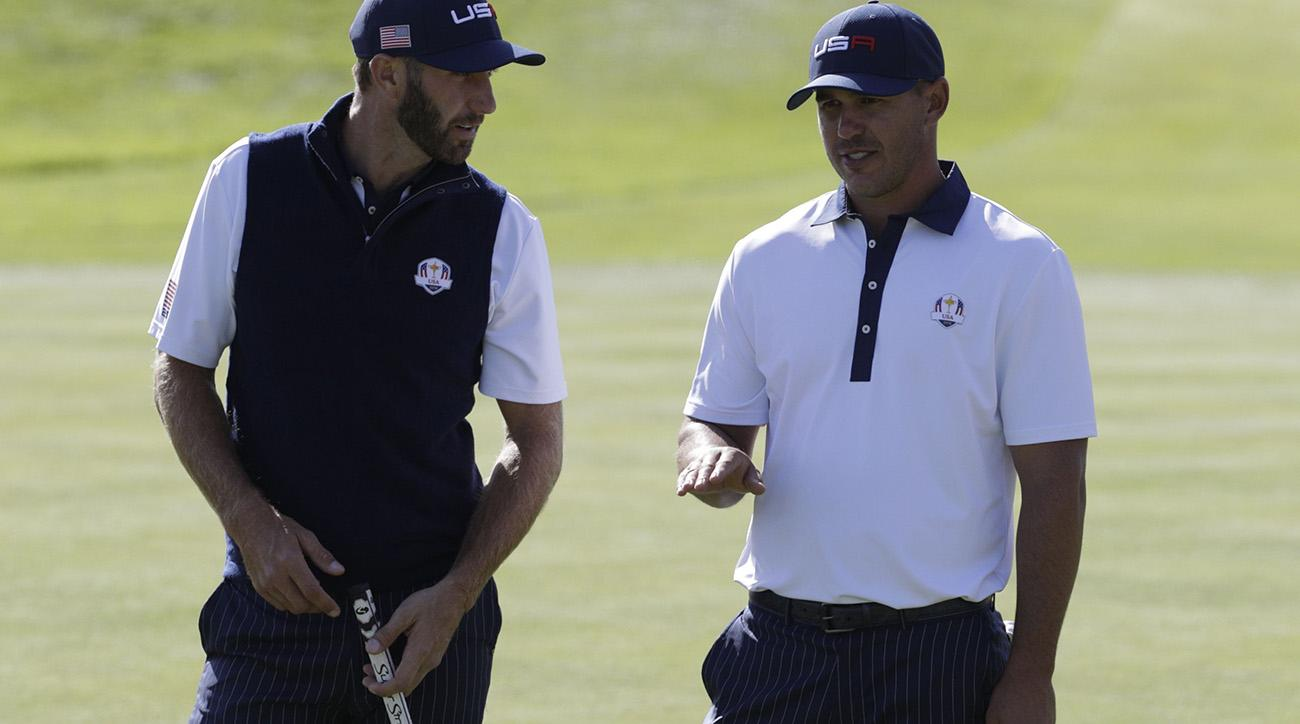 jim furyk, 2018 ryder cup, dustin johnson, brooks koepka, ryder cup, Koepka Johnson