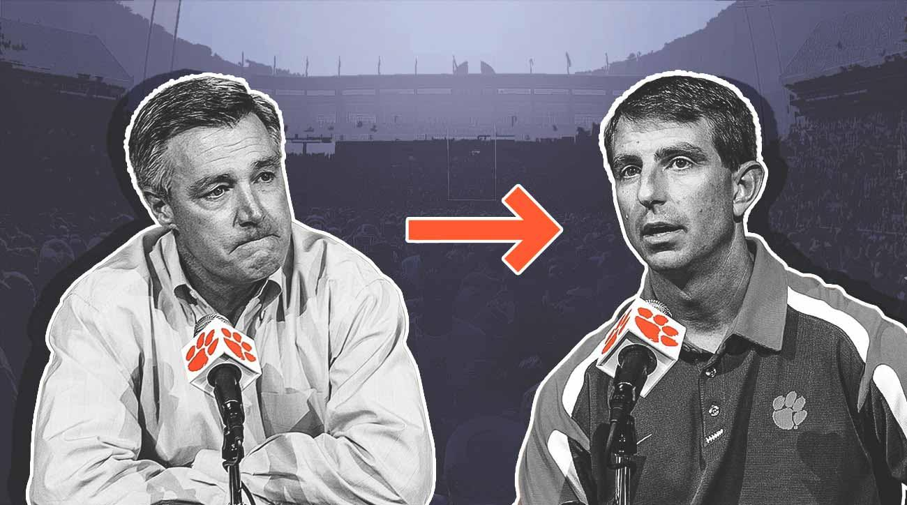 Tommy Bowden, Dabo Swinney and the interim coach who launched Clemson's dynasty