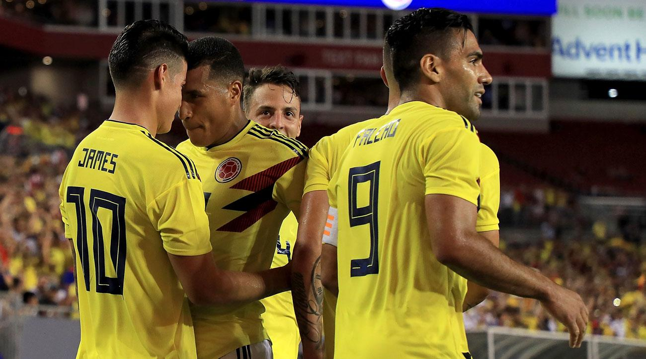 Colombia beats the USMNT in a friendly in Florida