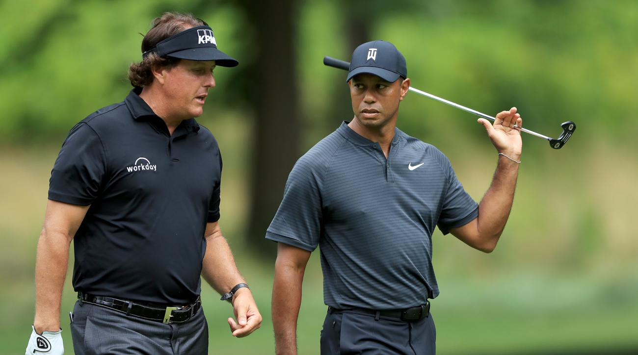 Tiger Woods Phil Mickelson pay per view